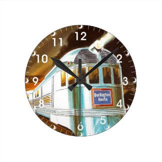 The Pioneer Zephyr 1934 Wall Clock