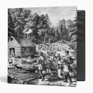 The Pioneer's Home on the Western Frontier 3 Ring Binder