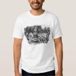 The Pioneer's Home on the Western Frontier Shirt