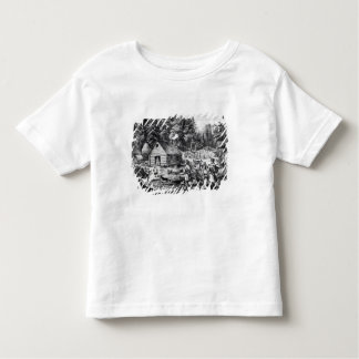 The Pioneer's Home on the Western Frontier Toddler T-shirt
