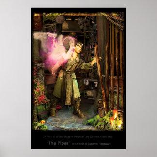 """""""The Piper""""- a portrait of Susumu Hirasawa by Cori Poster"""