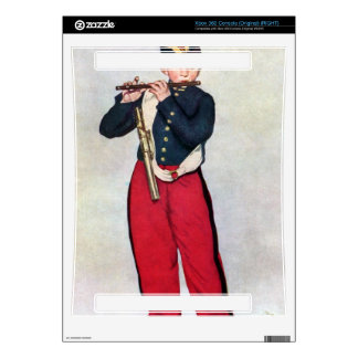The Piper by Edouard Manet Skin For The Xbox 360