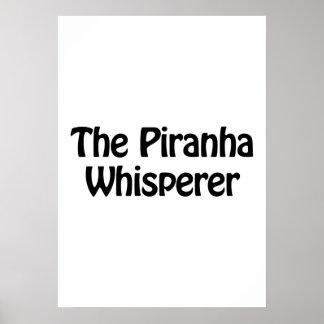 the piranha whisperer poster