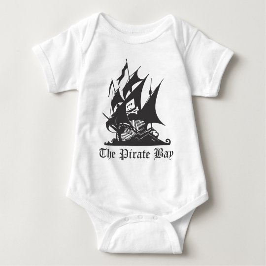 The Pirate Bay Baby Bodysuit