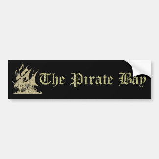 The Pirate Bay Bumper Stickers