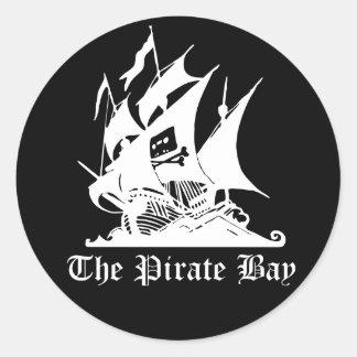 The Pirate Bay Classic Round Sticker