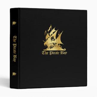 The Pirate Bay Gold Logo Binder
