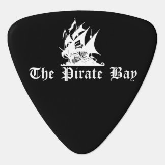 The Pirate Bay Guitar Pick