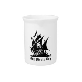 The Pirate Bay Logo Pitcher