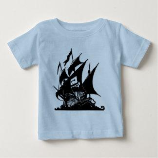 The Pirate Bay Logo Ship Baby T-Shirt