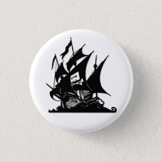 The Pirate Bay Logo Ship Button
