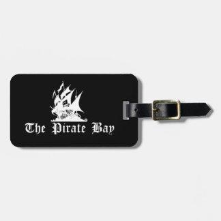 The Pirate Bay Luggage Tags
