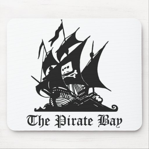 The pirate bay Mouse Pad