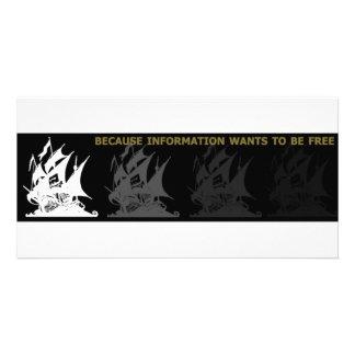 The Pirate Bay Custom Photo Card