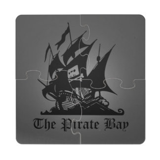The Pirate Bay Puzzle Coaster