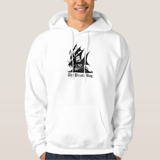 the pirate bay pirate ship logo hoody