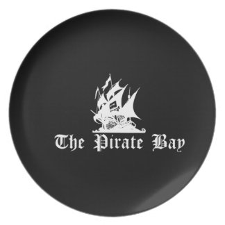 The Pirate Bay Party Plate