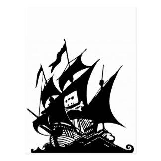 The Pirate Bay Postcard