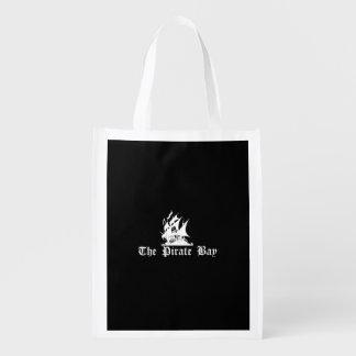 The Pirate Bay Reusable Grocery Bag