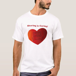The Pirate Bay : Sharing is Caring T-Shirt