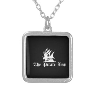 The Pirate Bay Silver Plated Necklace