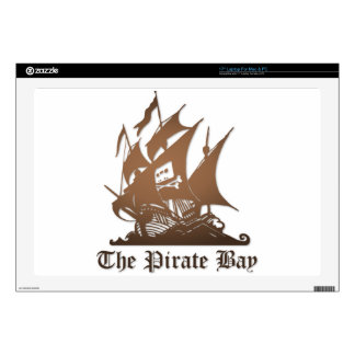 """The Pirate Bay Skins For 17"""" Laptops"""