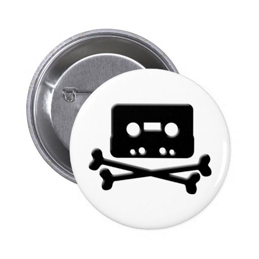 The Pirate Bay Tape Button