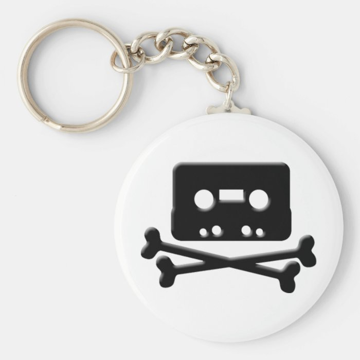 The Pirate Bay Tape Keychain
