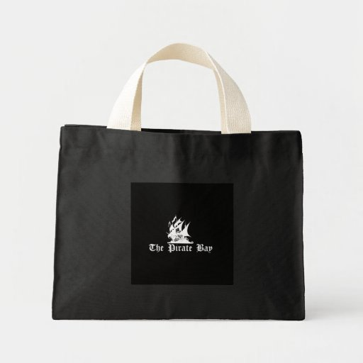 The Pirate Bay Tote Bags