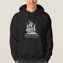 The Pirate Bay White Logo Hoodie