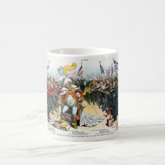 The Pirate Publisher Centerfold in Puck 1886 Classic White Coffee Mug