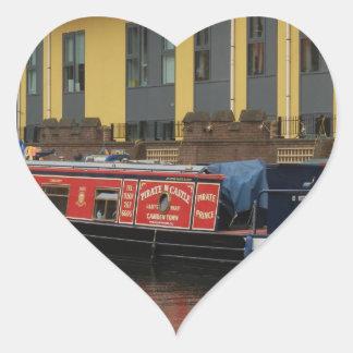The Pirates' Castle, Camden Town Heart Sticker