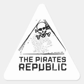 The Pirates Republic sticker
