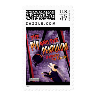 The Pit and The Pendulum Postage