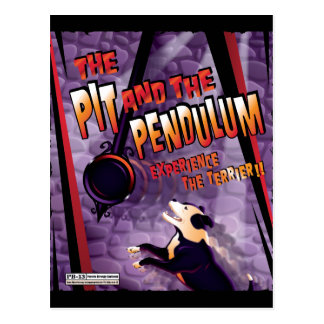 The Pit and The Pendulum Postcard