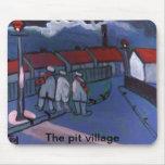 The pit village mouse mats