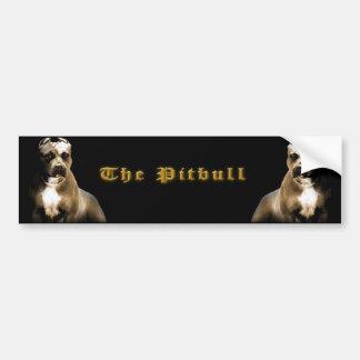 The PITbull Bumper Sticker