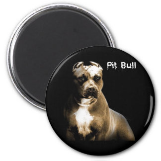 The PITbull 2 Inch Round Magnet