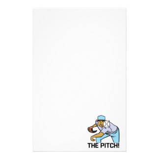 The Pitch Custom Stationery
