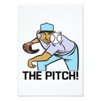 The Pitch Custom Invites