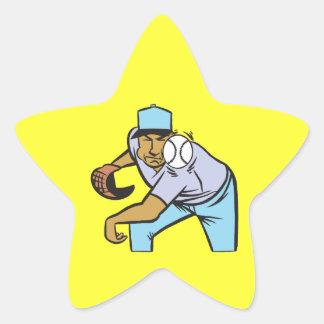 The Pitch Star Sticker