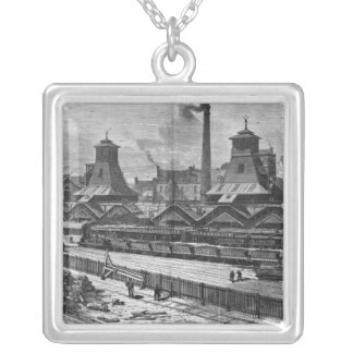 The Pits of St. Pierre & St. Paul at Le Silver Plated Necklace