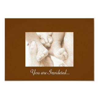 The Pitter Patter of Little Feet Card
