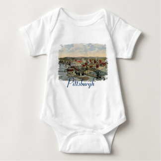 The Pittsburgh Point 1931 Baby Shirt