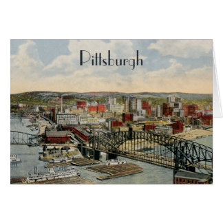The Pittsburgh Point 1931 Greeting Card