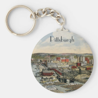 The Pittsburgh Point 1931 Keychain