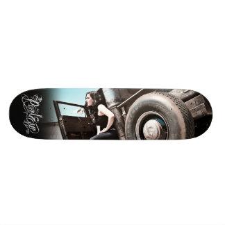 The Pixeleye - Hot Rod II of III Skate Deck