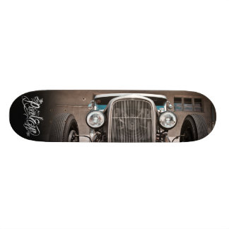 The Pixeleye - Hot Rod III of III Skateboard Deck