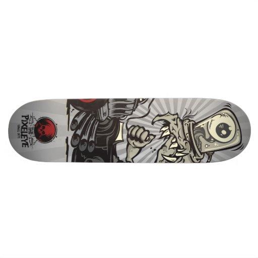 The Pixeleye - monster I Skateboard Deck