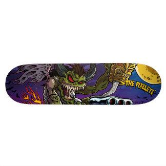 The Pixeleye - monster II Skateboard Deck